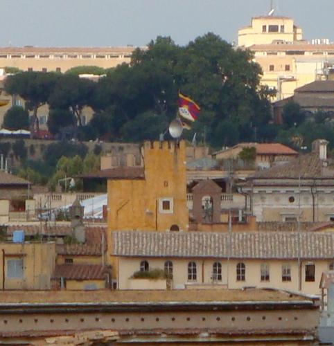 free tibet fra i tetti de Roma